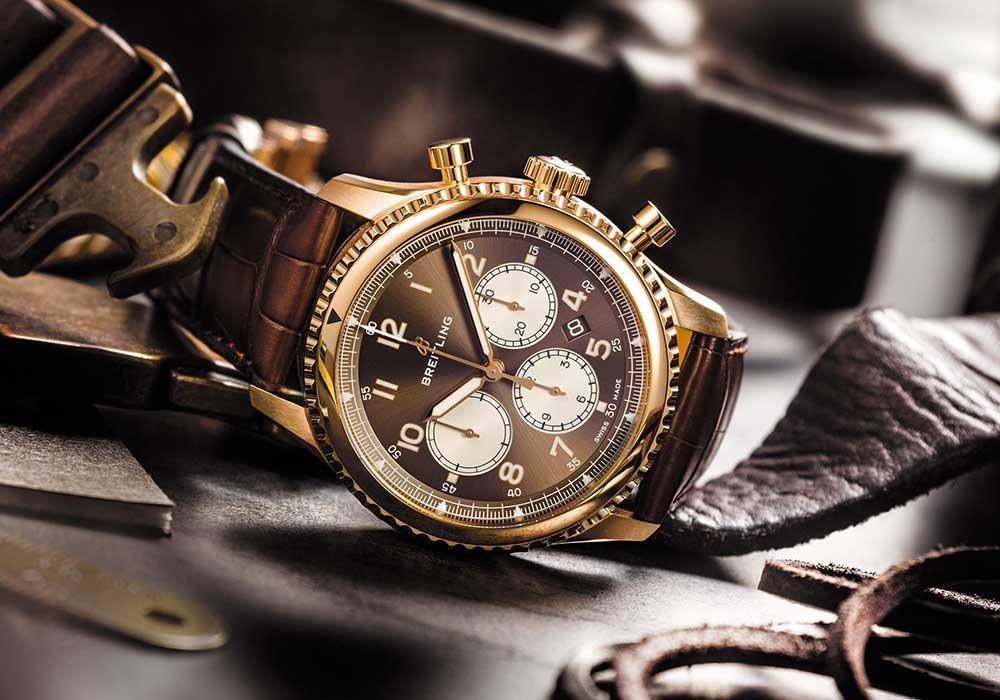 thay kính đồng hồ Breitling